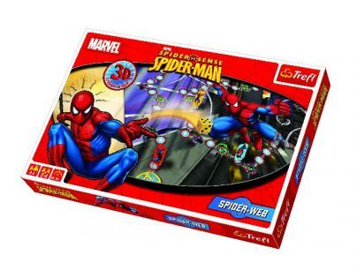 Trefl Spiderman Spiderweb 3D společenská hra