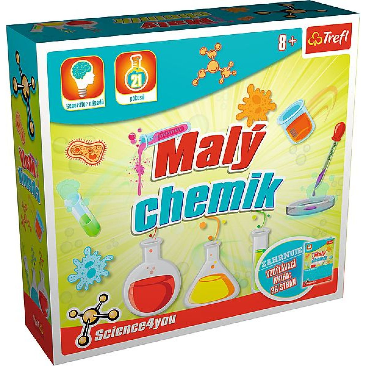 Trefl Malý chemik Science 4 you