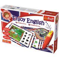 Trefl Malý objevitel Enjoy English sada s magickým perem