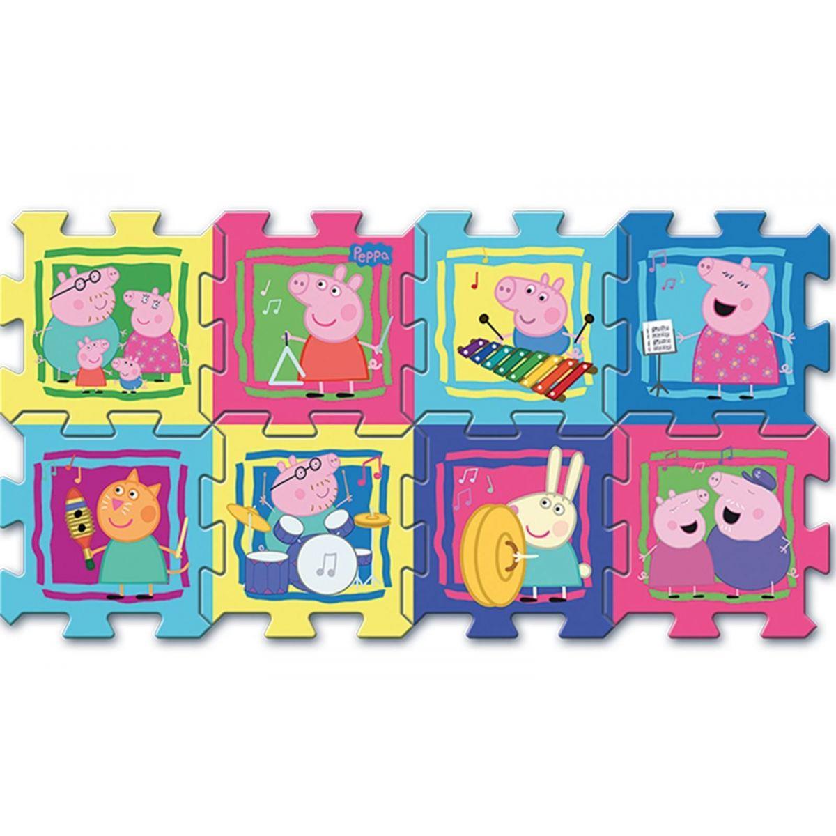 Trefl Puzzle Prasátko Peppa 30x30 cm 8 ks Trefl