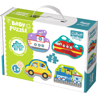 Trefl Puzzle Baby Classic Dopravní prostředky