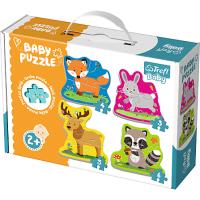 Trefl Puzzle Baby Classic Zvířata v lese