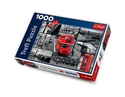 Trefl Puzzle Londýn koláž 1000 dílků