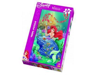 Trefl Puzzle Malá mořská víla Disney 260 dílků