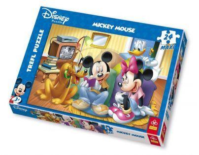 Trefl Puzzle maxi Pohádky Disney 24 dílků