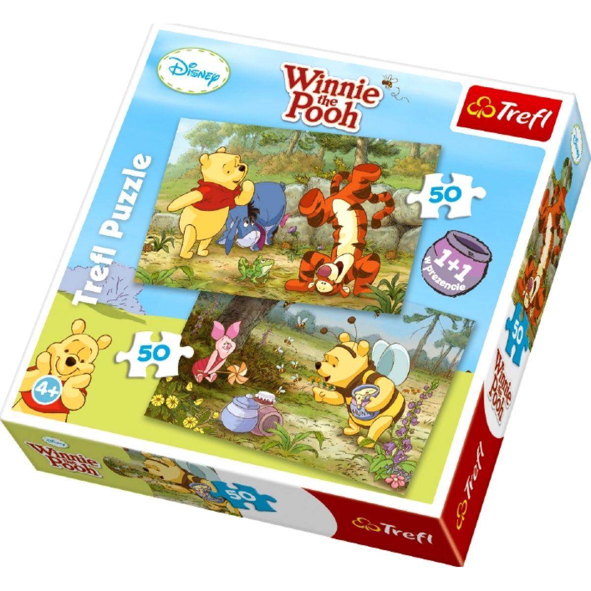 Puzzle Medvídek Pú 2x50d