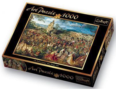 Puzzle Pieter Bruegel Nesení kříže 1000d