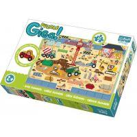Trefl Puzzle Staveniště Gigantic 12 ks