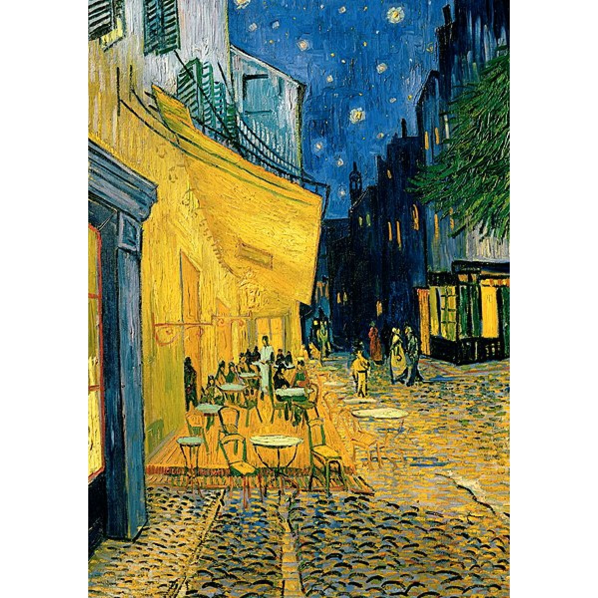 Trefl Puzzle Vincent van Gogh Terasa kavárny v noci 1000d