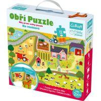 Trefl Puzzle XXL Na venkově 12 ks
