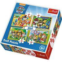 Trefl Tlapková Patrola Puzzle 4 v 1