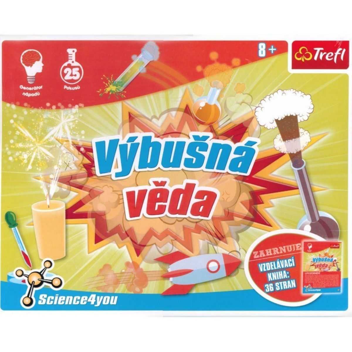 Trefl Výbušná věda Science 4 you