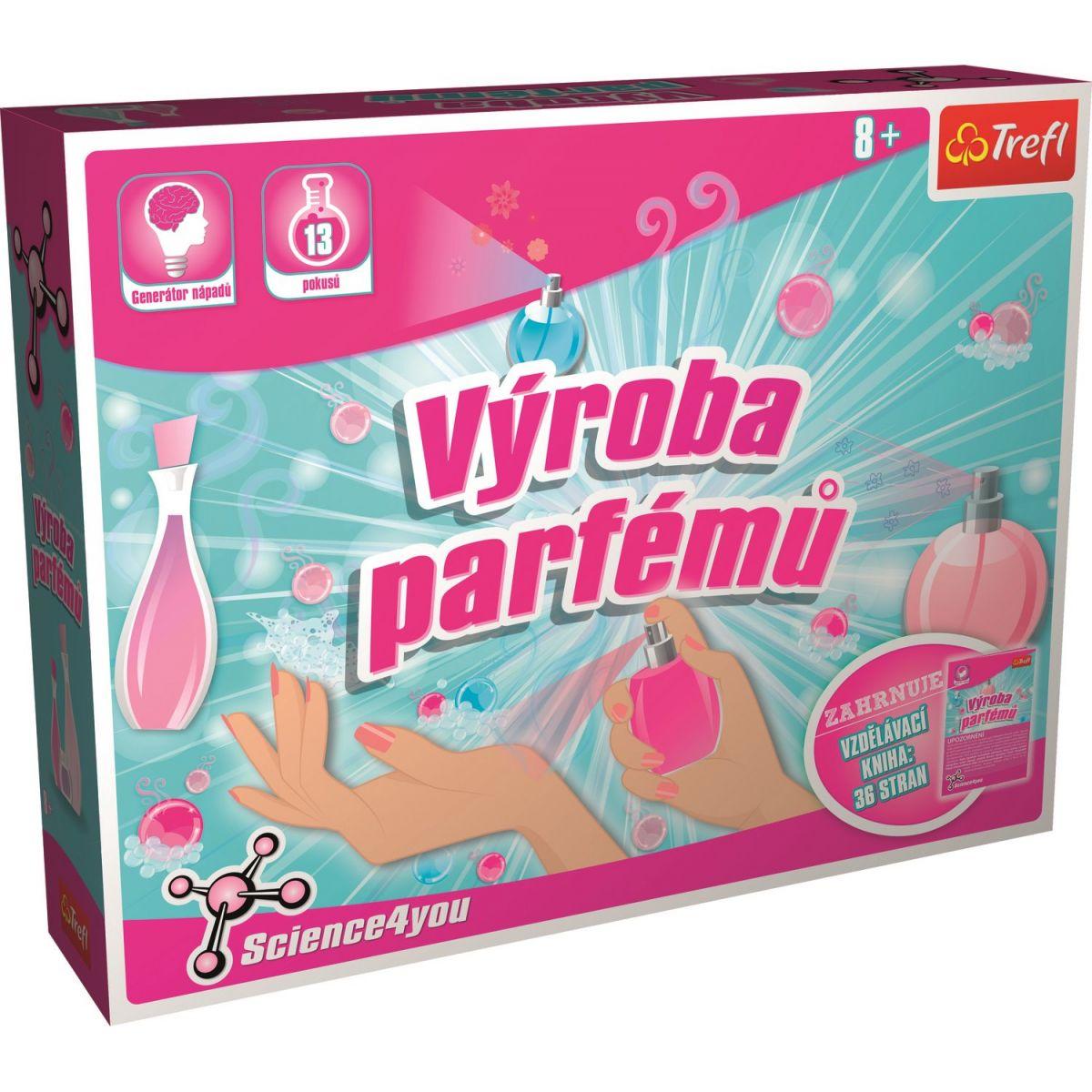 Trefl Výroba parfémů L a puzzle zdarma