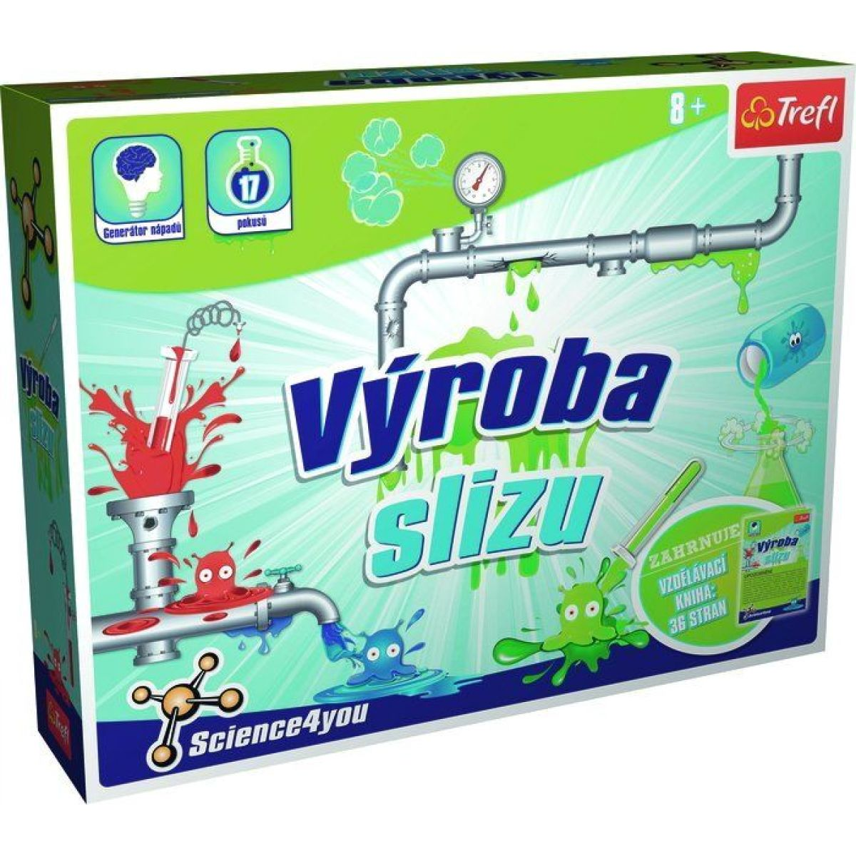 Trefl Výroba slizu Science 4 you
