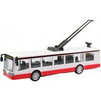 Made Trolejbus kovový na zpětný chod