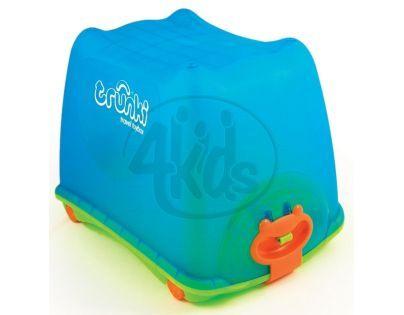 Box na hračky 4v1 Trunki modrý