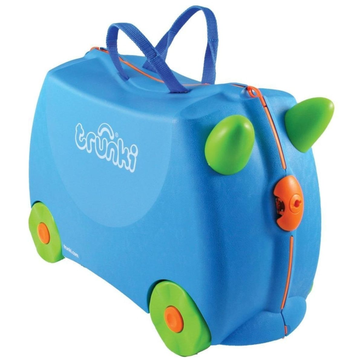 Trunki dětský kufřík odrážedlo Terrance modrý