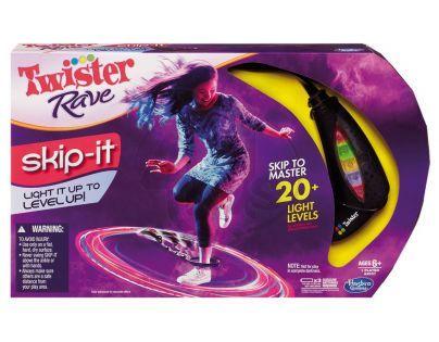 TWISTER Rave SKIP-IT Hasbro