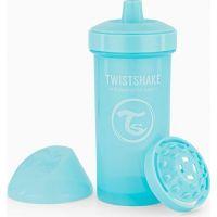 Twistshake Netekoucí lahev s pítkem 360 ml pastelově modrá