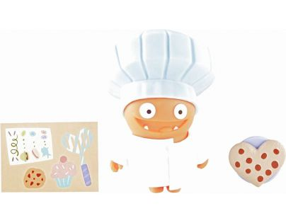 Uglydolls Sběratelská figurka Savy Chef Wage Bílá čepice