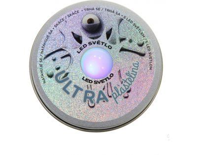 EP Line Ultra Plastelína 50 g s LED světlem šedá