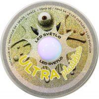 Ultra Plastelína 50g s led světlem žlutá