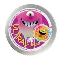 Ultra Plastelína 80 g UV růžová