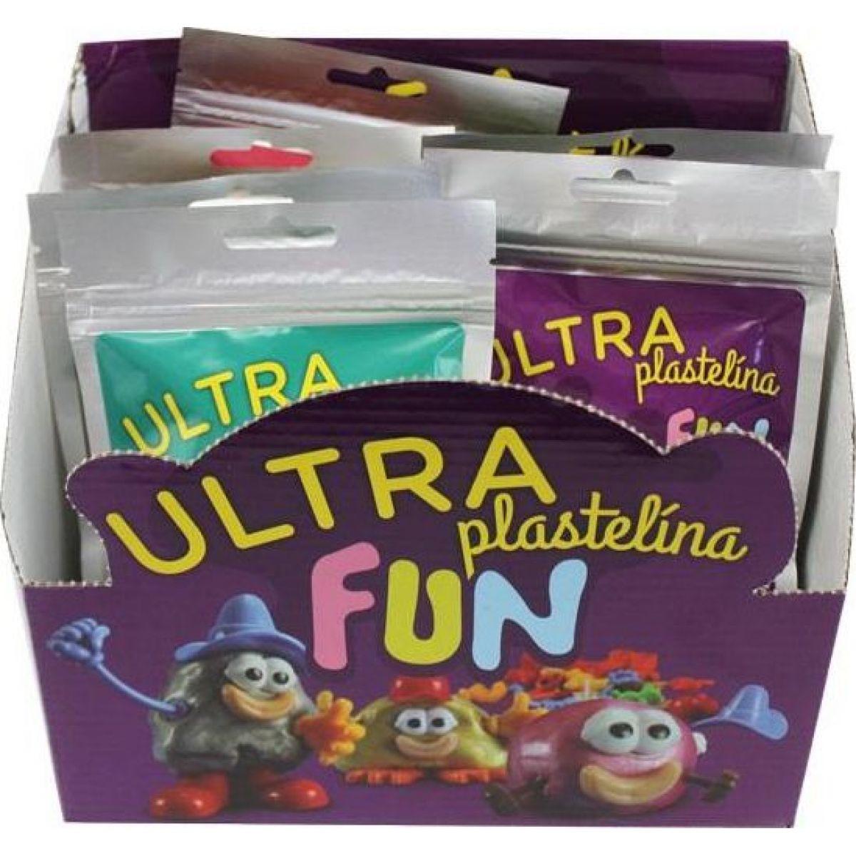 EP Line Ultra Plastelína Fun 21 g Sivá
