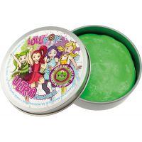 Ultra Plastelína Lollipopz Svítící ve tmě 50 g zelená