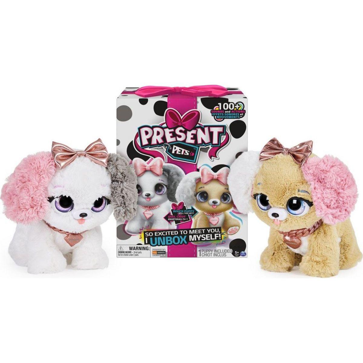 Present Pets Interaktivní štěňátka módní
