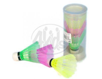Unison Míčky na badminton barevné 3ks