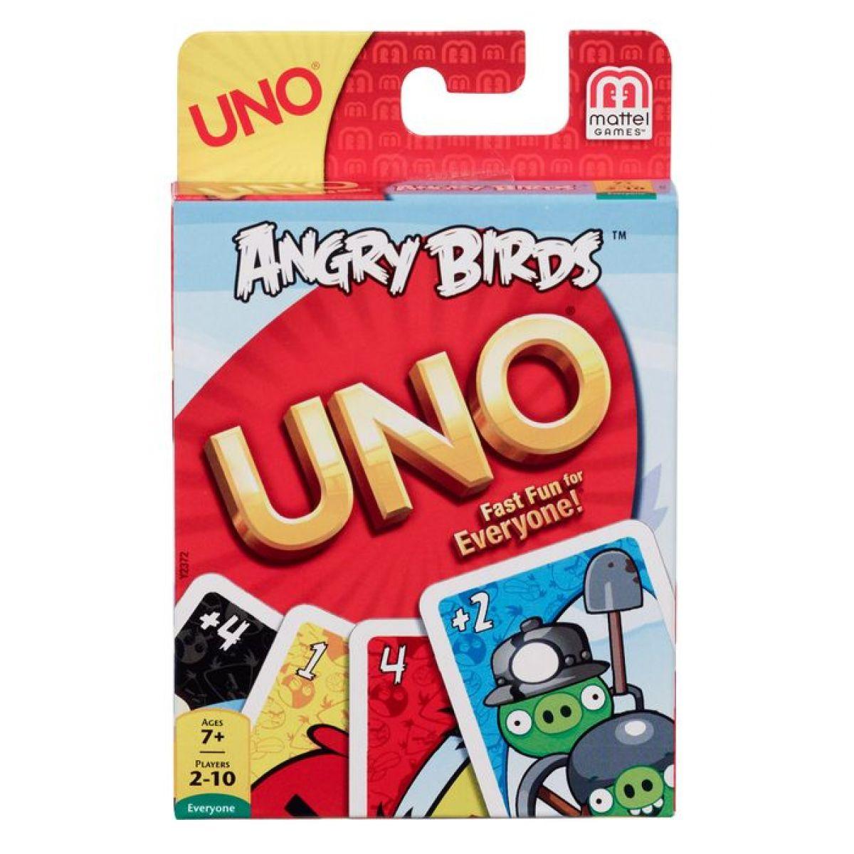 MATTEL Y2372 - UNO Angry Birds