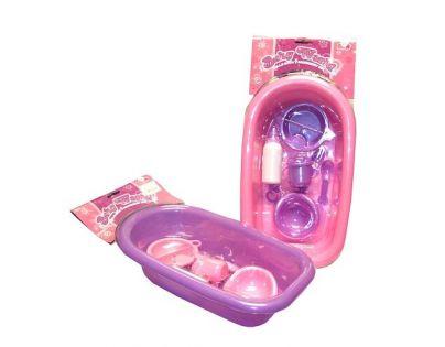 Vanička s výbavou pro panenku