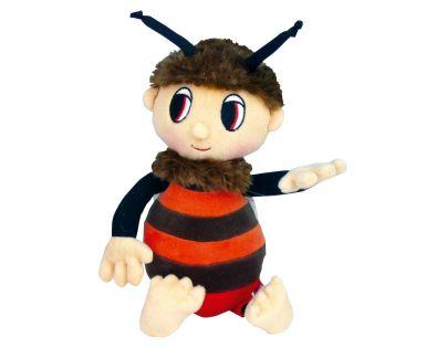 MIKRO 94279 - Včelí medvídek - Brumda 29 cm plyšový s písničkami