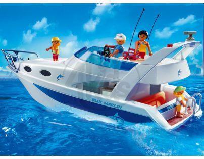 Velká motorová jachta Playmobil