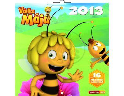 Včelka Mája, poznámkový kalendář 2013, 30 x 60 cm