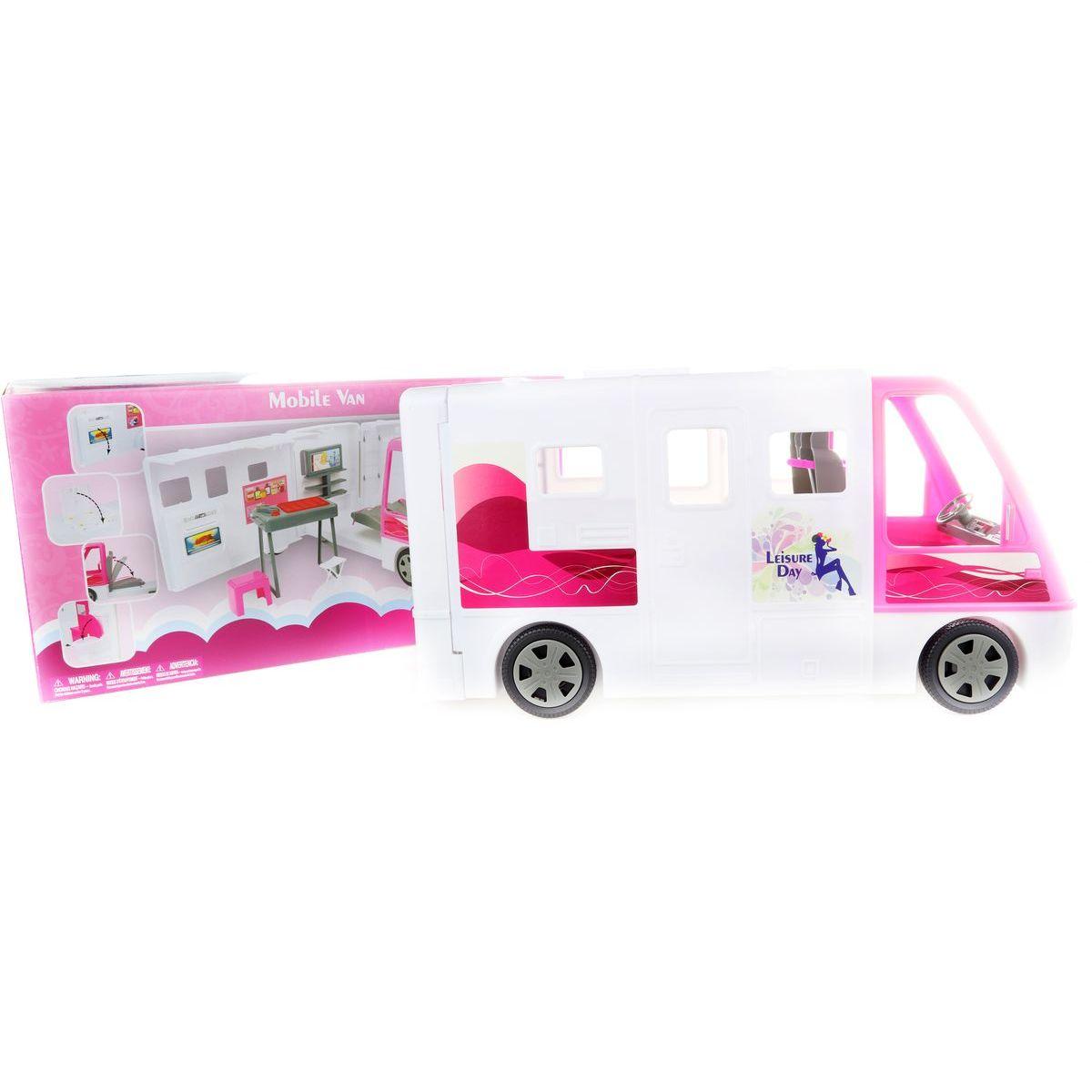 Lamps Velký bílý karavan pro panenky Lamps