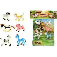 Veselá zvířátka Farma 6ks v sáčku
