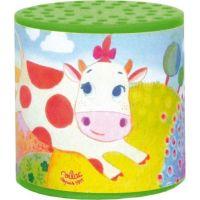 Vilac Plechovky se zvukem kravičky zelená