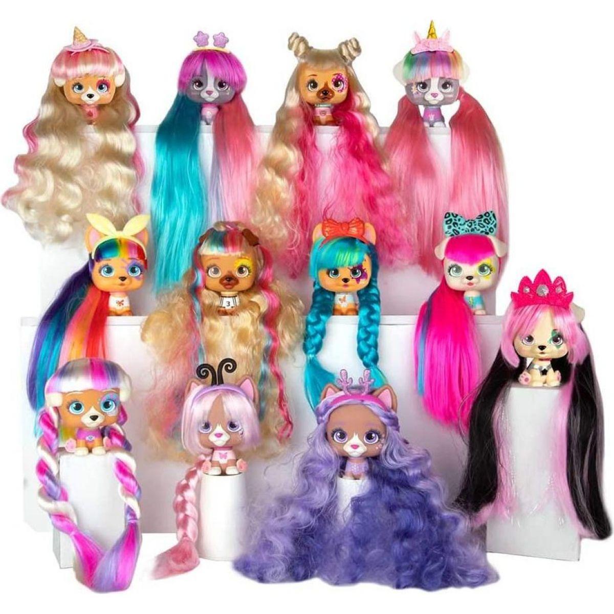 VIP Pets pejsek s doplňky a extra dlouhými vlasy