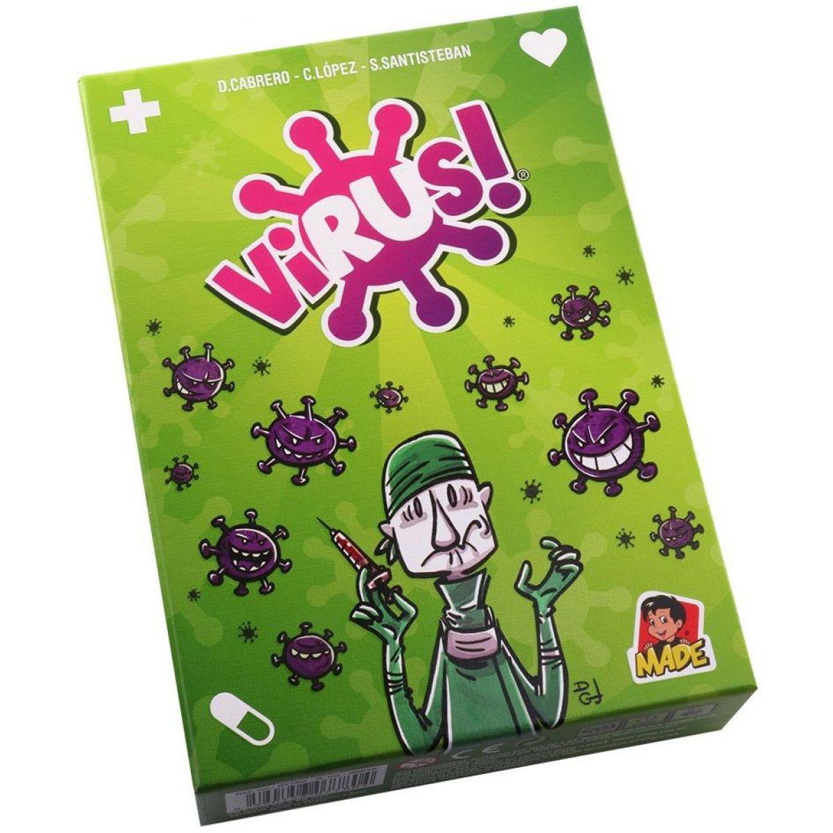 Virus společenská hra uzdrav tělo