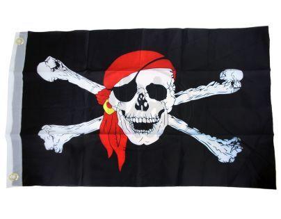 Rappa Vlajka pirátská 40x60cm