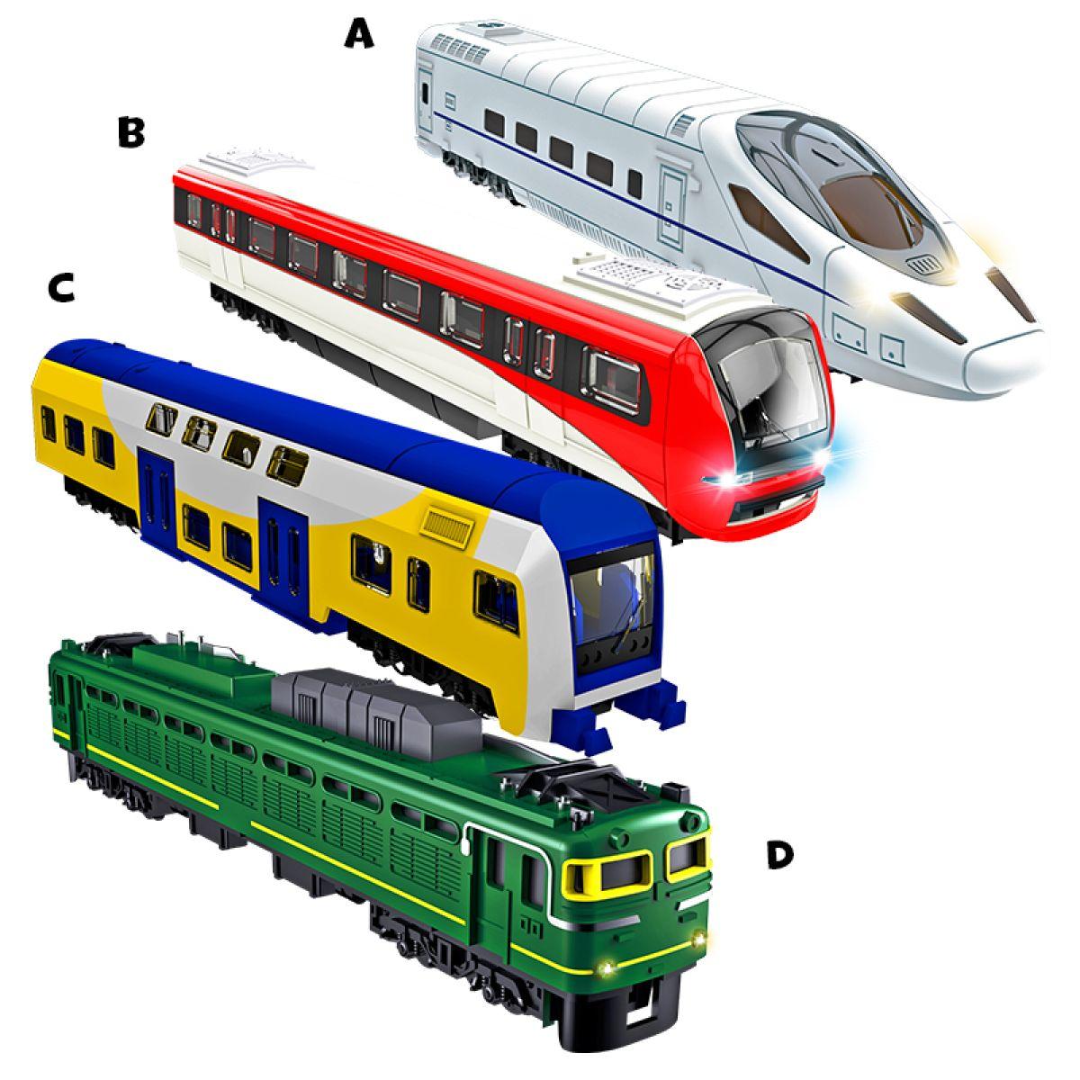 HM Studio Vlak - A Bílý A2001-01