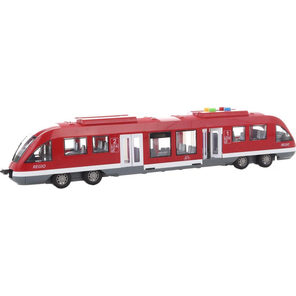 Vlak metro 2 barvy na baterie