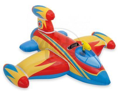 Intex 57539 Vodní vozidlo Letadlo s pistolí - Červená