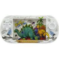 Vodní hra hlavolam s dinosaurem bílá