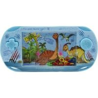 Vodní hra hlavolam s dinosaurem modrá