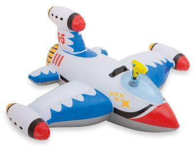 Intex 57539 Vodní vozidlo Letadlo s pistolí - Bílá