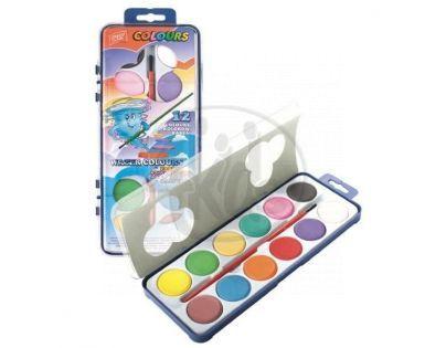 Easyoffice Vodové barvy WaterColours 12 barev