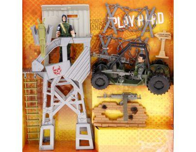 Lanard Vojenský set 23 cm - Strážní věž